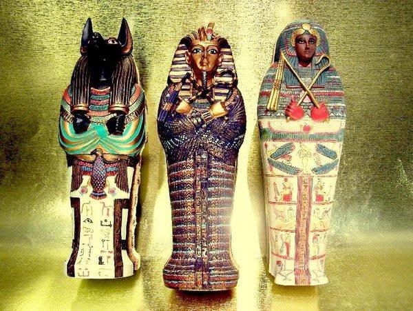 [ Vero 設計作品 手工彩繪-法老 祭司 棺材 ]-3款選擇 圖坦卡門 / 阿努比斯 / 底比斯人.