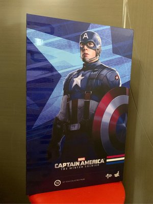 Hottoys Captain America mms240 The Winter Soldier (Golden Age Version) hot toys
