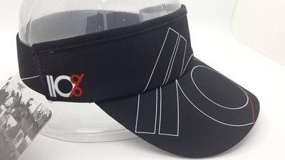騎跑泳/勇者-HEADSWEATS黑遮陽帽,帽圈CoolMax材質,重量輕,舒適,快乾.110%PLAY HARDER