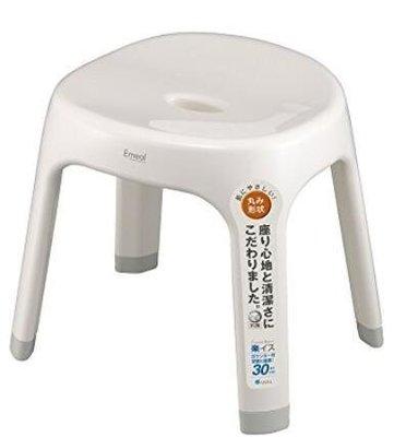 日本進口 日本品牌 好品質 加高款浴室椅子矮凳洗澡椅穿鞋椅休閒椅休息戶外椅客廳房間椅子 3065b