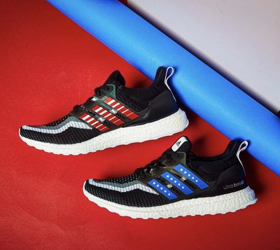 【路克球鞋小天地】愛迪達 Adidas Ultra Boost NYC 男鞋 美國 紐約 黑紅藍 慢跑鞋 FV2587