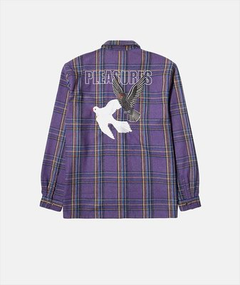 PLEASURES WIDOW HEAVYWEIGHT FLANNEL 兩色