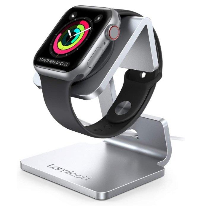 《FOS》日本 Apple Watch Series 6 SE 鋁合金 充電支架 支撐架 蘋果 38 42 44mm