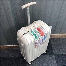 ✿Lu girl 超輕耐摔拉桿箱女外貿原單旅行箱出口日本防刮純PC材質行李箱尾單JU19