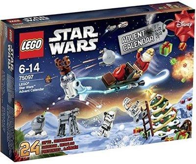 【摩摩小屋】LEGO 耶誕降臨曆 Star Wars 75097 ADVENT CALENDAR 星際大戰 聖誕 樂高