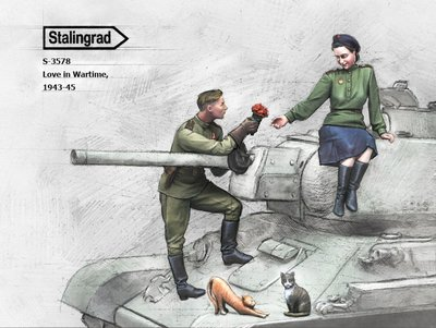 (ST)S-3578 1/35 Love in Wartime,1943-45 Resin Figures