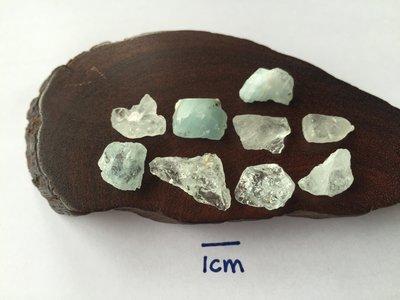 【Texture & Nobleness 低調與奢華】礦物展區 原礦 標本 -巴西海水藍寶-11.84克