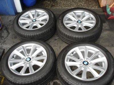 台中普羅輪胎-BMW 5系E34 E39 7系E32 5*120  8*17ET30原廠鋁圈 適合車種E38 E39 E46.