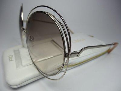 【信義計劃眼鏡】ImeMyself Eyewear 全新真品 Chloe CE114S 太陽眼鏡 義大利製 圓框 超大框
