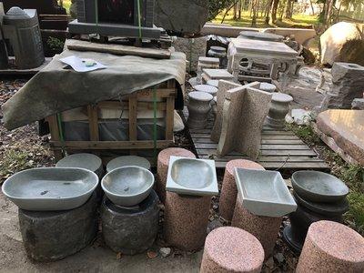 「石夫的家」石雕水盆石盆
