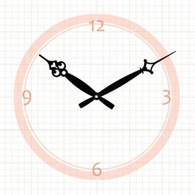 【鐘點站】 J140106B  SKP壓針機芯 / 分針14公分 時針10.6公分 / DIY 時鐘 掛鐘 鐘針