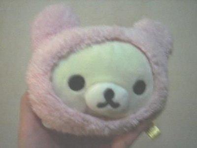 全新可愛粉紅拉拉熊零錢包