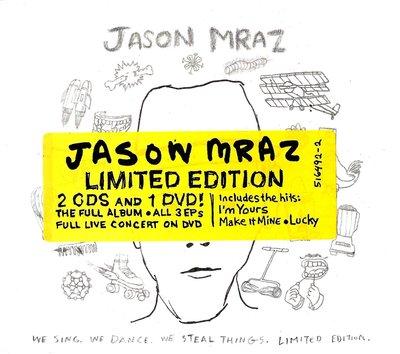 傑森瑪耶茲Jason Mraz / We Sing We Dance We Steal Things 2CD+DVD