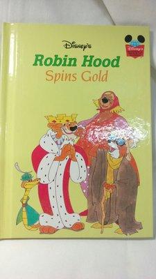 🌈🌈迪士尼全新精裝全彩全英故事繪本ROBIN HOOD SPINS GOLF❇️