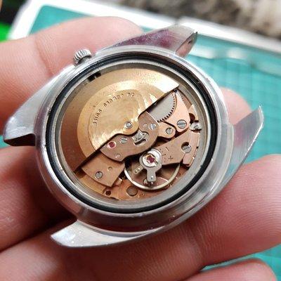 <行走順暢>SWISS 紅肉機心 早期好貨 漂亮 大錶徑 可遇不可求 機械錶 另有 OMEGA SEKIO TELUX G03 潛水錶 賽車錶 老錶 男錶