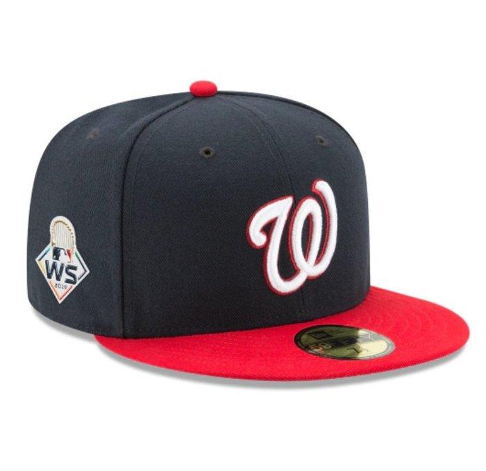 《FOS》New Era WASHINGTON NATIONALS 華盛頓國民 2019世界大賽 棒球帽 大聯盟美國職棒