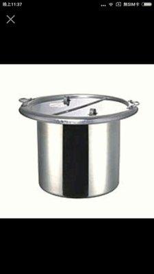 哈哈商城 台灣製 不鏽鋼  八吋 無格 魯桶 ~ 餐飲 餐具 廚具 爐具 餐車 滷味 麵 湯桶 餐檯 二手 小吃 仙草