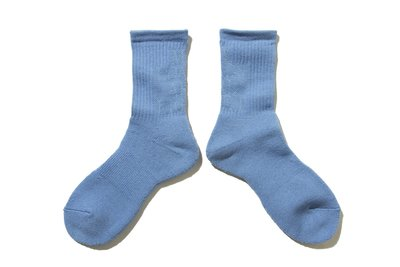 "[ LAB Taipei ] MY LOADS ARE LIGHT ""LETTERED SOCKS (Blue)"""