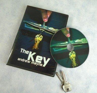 【意凡魔術小舖】鑰匙穿鈔票THE KEY--鑰匙穿越+DVD 近景魔術