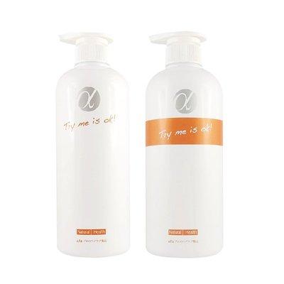 Afa阿法 α天天洗髮護髮組 天天洗髮精700g / 天天護髮素650g - 平衡蓬鬆