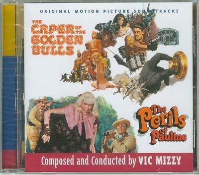 """Caper of the Golden Bulls/Perils..""- Vic Mizzy,全新美版"
