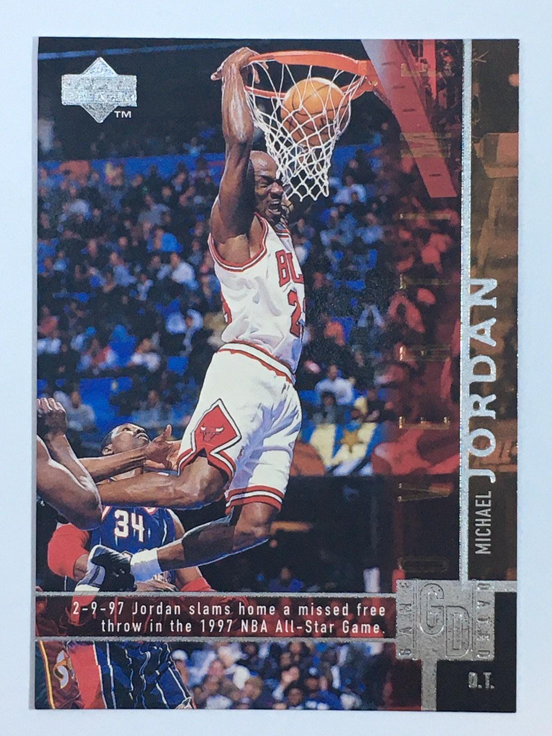 1997-98 Upper Deck Game Dated #316 Michael Jordan Bulls