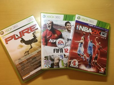 NBA 2K13, FIFA 12, Pure Motorcycle+ LEGO Batman
