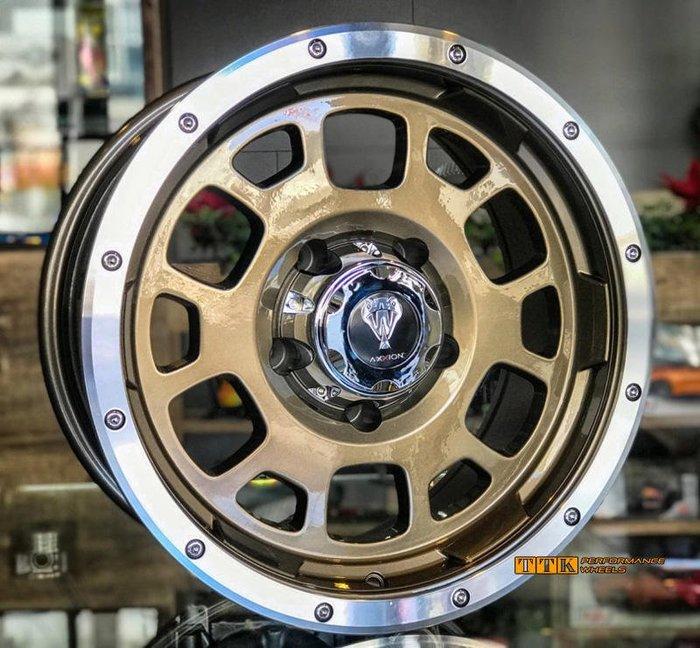 【美麗輪胎舘】休旅車 4X4 貨卡 專用鋁圈式樣 17吋 5X139.7 / 6X139.7 8.5J ET0 古銅車邊