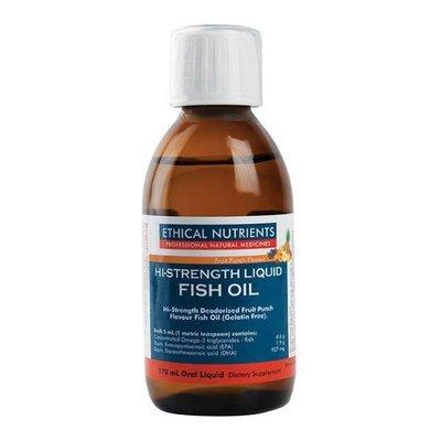 *自然之光*澳洲Ethical Nutrients愛思科高濃度液體魚油170ml