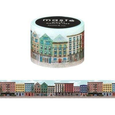 【R的雜貨舖】紙膠帶分裝 MARK'S maste和紙膠帶-アパートメント 公寓