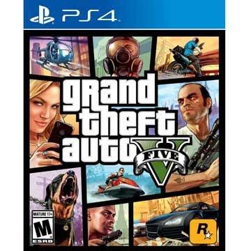 ◮林口歡樂谷◮ PS4 俠盜獵車手5 高級版 豪華版 (GTA 5) 美版 有中文 現貨