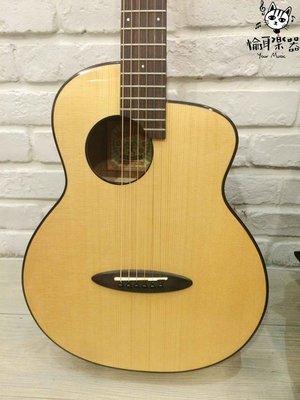♪Your Music愉耳樂器♪aNueNue M12FeatherBird Guitar36吋面單雲杉桃花心木鳥吉他