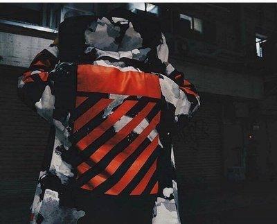 極新現貨 Off white FW16 Rendering 渲染 連帽外套 渲染連帽外套 小賈 肯爺 只著用一次 xxs