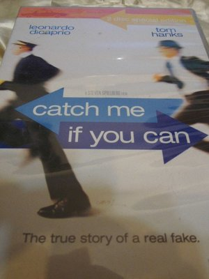 Catch Me If You Can 神鬼交鋒 -- 史蒂芬史匹柏導 李奧納多狄卡皮歐 湯姆漢克 雙碟版