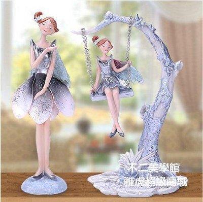 【格倫雅】^ミempest灬結婚禮物家居飾品天使擺件工藝品婚慶禮品高檔生日23939[