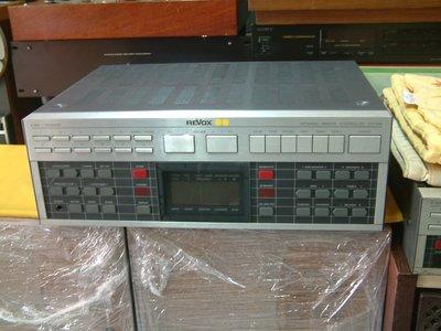 德國 REVOX B-285 綜合擴大機 80W+80W 品相很漂亮 除了收音機故障 其他功能正常