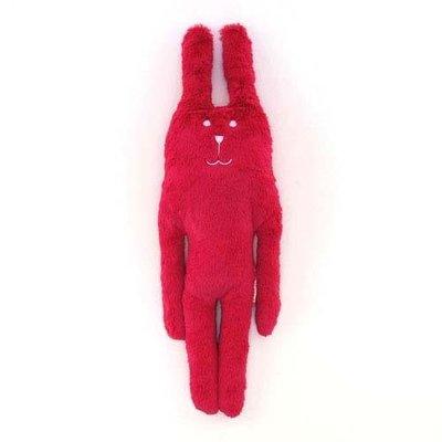 尼德斯Nydus~* 日本正版CRAFTHOLIC 宇宙人 抱枕 S size 經典桃紅兔 17x45 cm