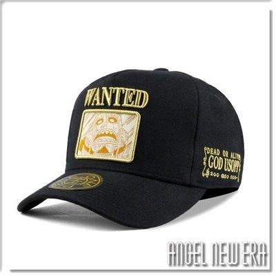 【ANGEL NEW ERA】ONE PIECE 航海王 懸賞單 騙人布 經典黑 老帽 卡車帽 東映授權 限量帽贈帽撐