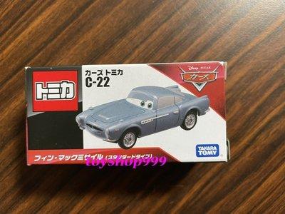 日本TAKARATOMY 迪士尼 CARS TOMICA C-22 麥克飛彈 (標準版) (999玩具店)