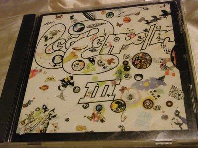 Led Zeppelin III 齊柏林飛船第3張專輯  美版