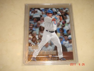 美國職棒 Cubs Sam Fuld  2008 Upper Deck #314 RC 新人卡 球員卡