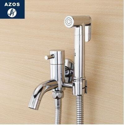 【優上】德國 增壓手持花灑冷熱婦洗器噴頭噴槍淋浴 馬桶閥龍頭套裝「A款套裝(單冷水)」