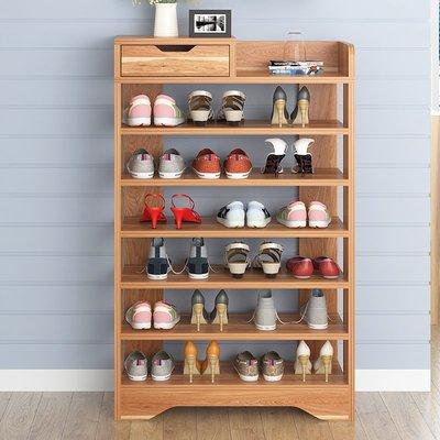 簡易鞋架多層 防塵鞋櫃經濟型收納架子 多功能家用鞋架組裝