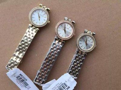 【Michael Kors代購館 】美國正品 MK3289 MK3323 MK3325 迷你款女錶 超可愛薄錶盤手錶