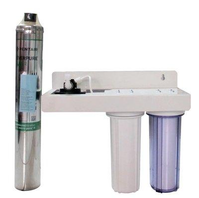 【清淨淨水店】商用3道MC2 Everpure3道淨水器(生飲級)2道NSF濾心+MC濾心只賣2000元