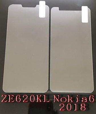 ASUS ZenFone 5 ZE620KL 玻璃 Nokia6 2018 鋼化玻璃 非滿版 9H 附乾濕棉片+除塵貼