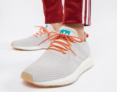 『BAN'S SHOP』Adidas 經典復古 Swift Run 灰粉色夏日款 US7.5 全新 美國購回