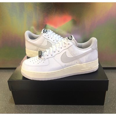 "全新款 Nike Air Force 1 '07 Premium ""Toll Free"" 白灰反光 CJ1631-100"