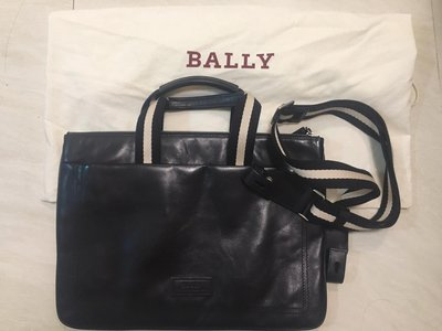 Bally 真皮手提袋(9成9新)(3折)