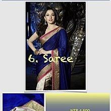 6. 氣質公主款 Princess Saree 寶萊塢明星風格莎麗 印度舞衣紗麗 Sari